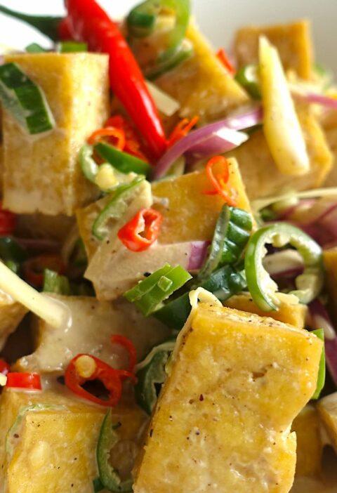 Tofu Dinakdakan